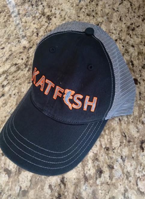 KATFISH FLAT ORANGE (BLK/CHR) Unstructured