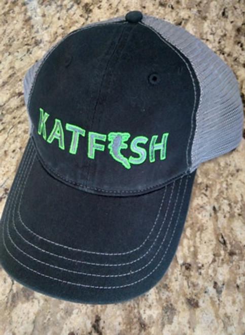 KATFISH FLAT GREEN (BLK/CHR) Unstructured