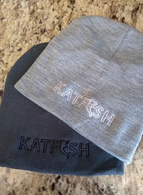 KATFISH Beanie Grey/Wht