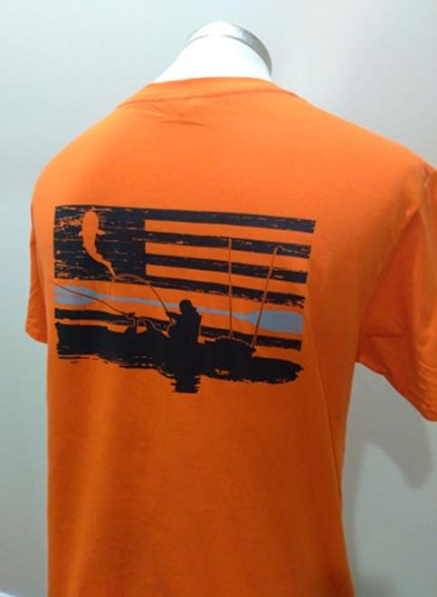 Kayak Tee Safety Orange