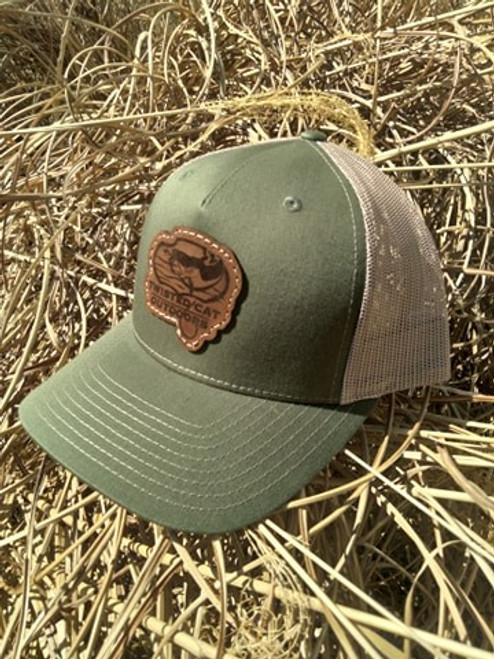 Twisted Cat Edition Snapback (Army/Tan)
