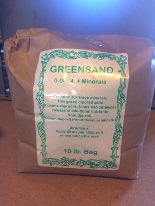 Greensand (0-0-1.4) 10 lb