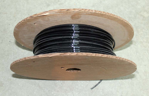 Mono-filament black wire 8 ga x 333 DE2822-0333