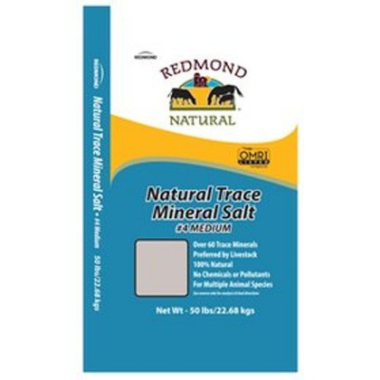 Redmond 4 Medium Mineral Salt 50 lbs