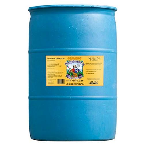 Neptune's Harvest Liquid Fish Fertilizer (2-4-0.5) 55 Gallon- Price $390.00, DROP SHIP