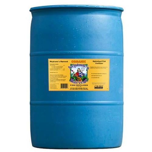 Neptune's Harvest Liquid Fish Fertilizer  (2-4-0.5) 55 Gallon Drum (In Stock) $398.00