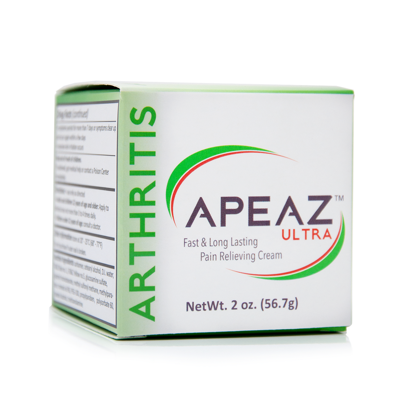Apeaz® Ultra Temporary Arthritis Pain Relief Topical Cream (2oz/56 7g)
