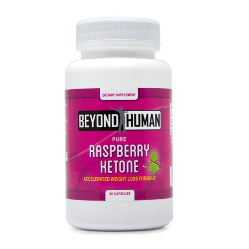 Beyond Human® Pure Raspberry Ketone Weight Loss Formula (60 Capsules)