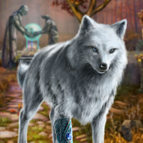 Echoes of the Past Wolf Healer