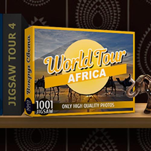 1001 Jigsaw World Tour Africa