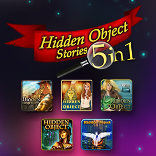 Hidden Object Stories: 5 in 1