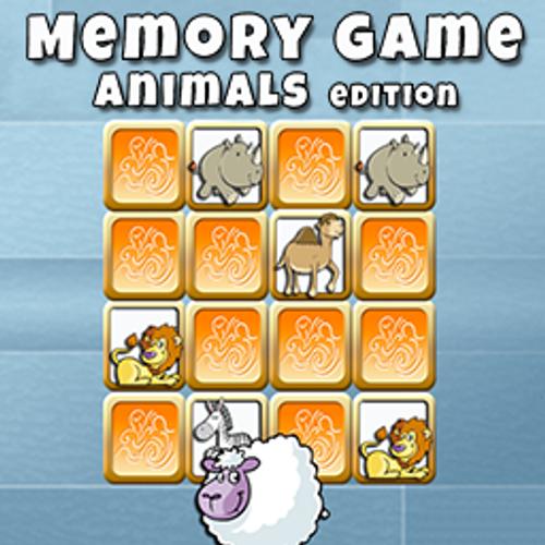 Memory Game Animal Edition