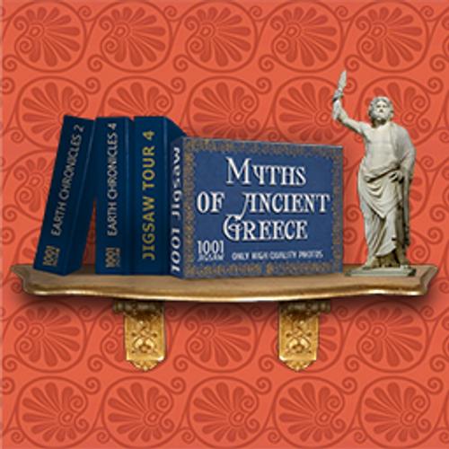 1001 Jigsaw Myths of Ancient Greece