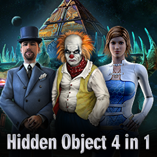 Hidden Object 4-in-1 Bundle