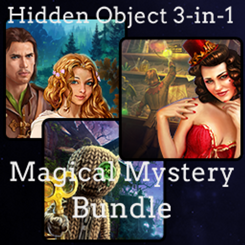 Hidden Object 3-in-1 Magical Mystery Bundle