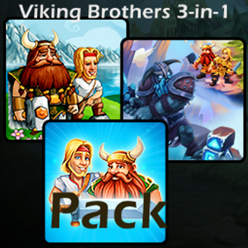 Viking Brothers 3-in-1 Pack