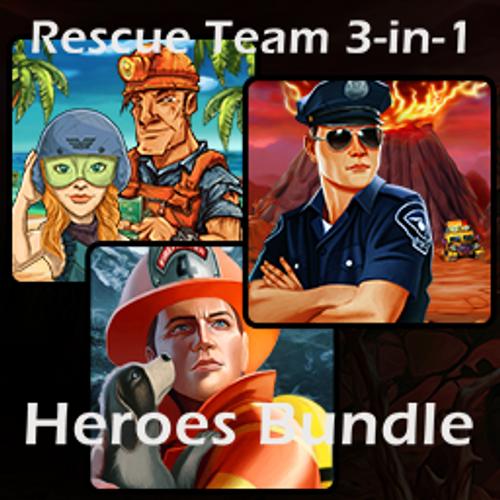 Rescue Team 3-in-1 Heroes Bundle