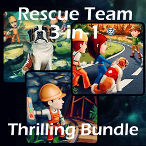 Rescue Team 3-in-1 Thrilling Bundle