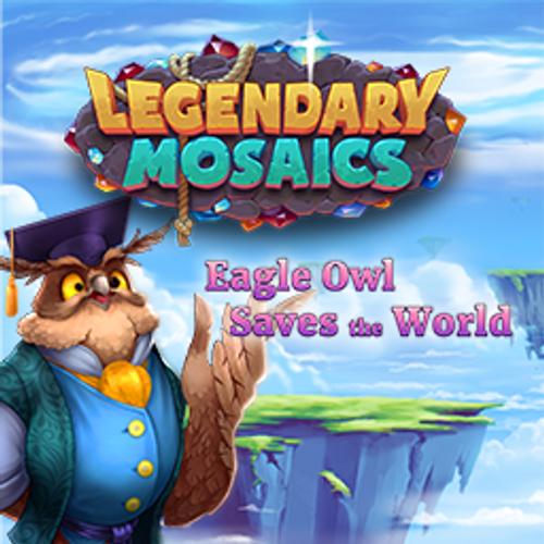 Legendary Mosaics 3: Eagle Owl Saves the World