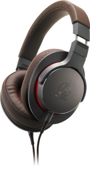 Audio-Technica ATH-MSR7b Audífonos Over-Ear Hi-Res con Cable Balanceado - Marrón