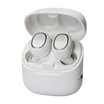 Audio-Technica ATH-CK3TW Audífonos In-Ear Totalmente Inalámbricos - Blanco