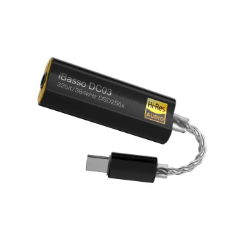 iBasso DC03 - DAC USB C Portátil Hi-Res 3.5mm