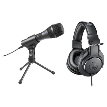 Audio-Technica AT-EDU25 Pack Micrófono AT2005USB + ATH-M20x
