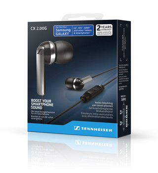 Sennheiser CX2.00G Negro Android - Audífonos In-Ear