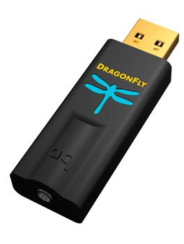 AudioQuest DragonFly Black - DAC USB Android iOS Mac y PC Hi-Fi