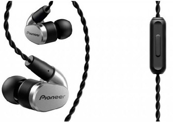 Pioneer SE-CH5T - Audifonos Hi-Res Audio con Handsfree - Negro/Plata