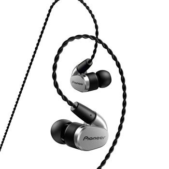 Pioneer SE-CH5T - Audifonos Hi-Res Audio con Handsfree - Plata