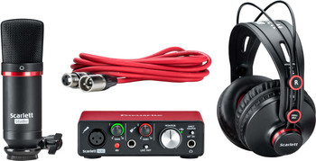 Focusrite Scarlett Solo Studio Pack (2nd Gen) Interfaz de Audio