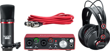 Focusrite Scarlett 2i2 Studio (2nd Gen) Interfaz de Audio