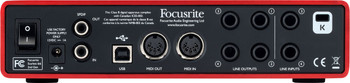 Focusrite Scarlett 6i6 (2nd Gen) Interfaz de Audio