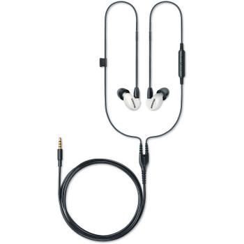 Shure SE215 Edición Especial Blanco - Audífonos In-Ear con Handsfree Android/iOS