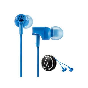 Audio-Technica ATH-CLR100 Audífonos In-Ear Azul