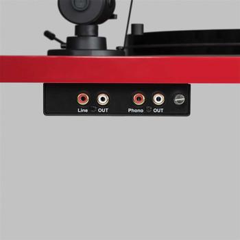 Pro-Ject Essential III BT Tornamesa con Bluetooth - Rojo