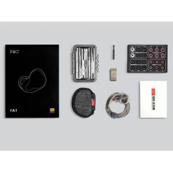 FiiO FA7 Audífonos In-Ear HiFi Handsfree 4 Drivers Knowles