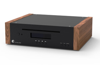 Pro-Ject CD Box DS2 Reproductor de CD Hi-Fi - Madera/Negro