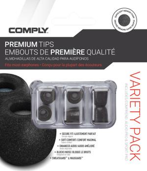 Comply Almohadillas de Espuma - Smartcore Variety Pro Pack  - 03 Pares