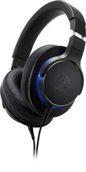 Audio-Technica ATH-MSR7b Audífonos Over-Ear Hi-Res con Cable Balanceado