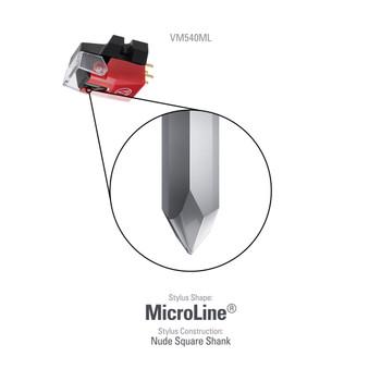 Audio-Technica VM540ML Cartucho de Doble Imán Móvil