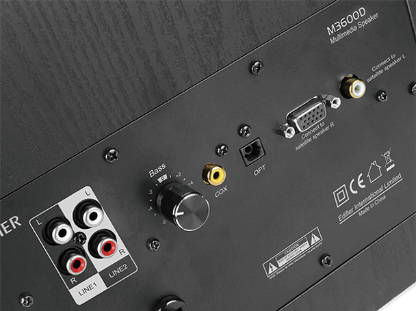 Edifier M3600D Parlantes Amplificados 2.1