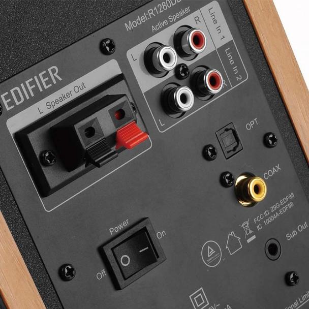 Edifier R1280DBs Parlante Activo Bluetooth Optico Control Remoto