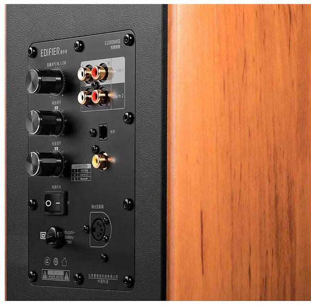 Edifier S1000 MKII  Parlante HiFi Activo Madera Bluetooth