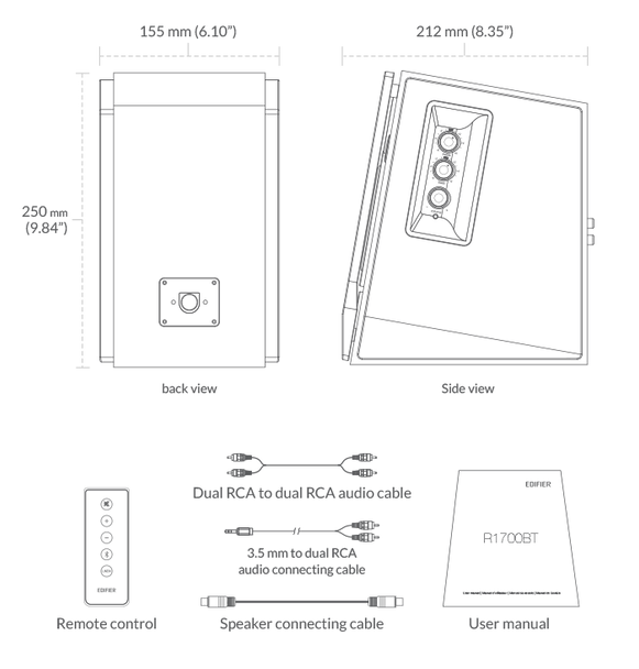Edifier R1700BT Parlante Activo Bluetooth