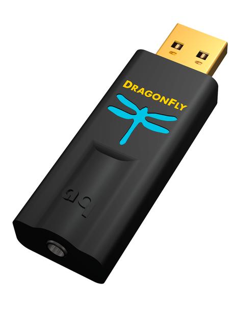 AudioQuest DragonFly Black - DAC USB Android iOS Mac y PC Hi-Fi