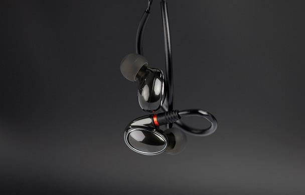 Fiio FH1 Audífonos In-Ear HiFi Handsfree 3 Drivers Cable Desmontable