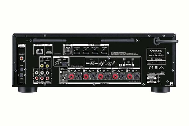 Onkyo TX-NR474 - Receptor A/V 5.1 Atmos DTS:X WiFi