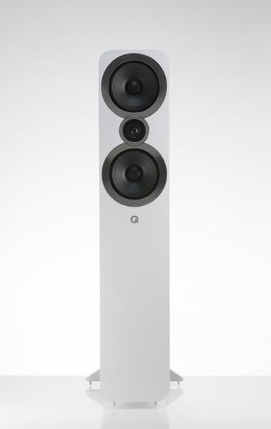 Q-Acoustics Q3050i Parlantes Torre Blanco (Par)
